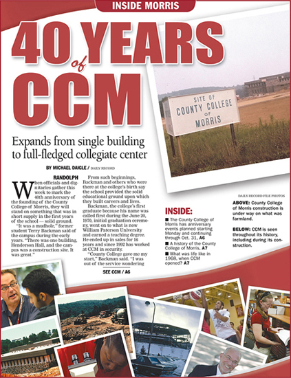 40 Years of CCM