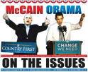 McCain, Obama - On the Issues